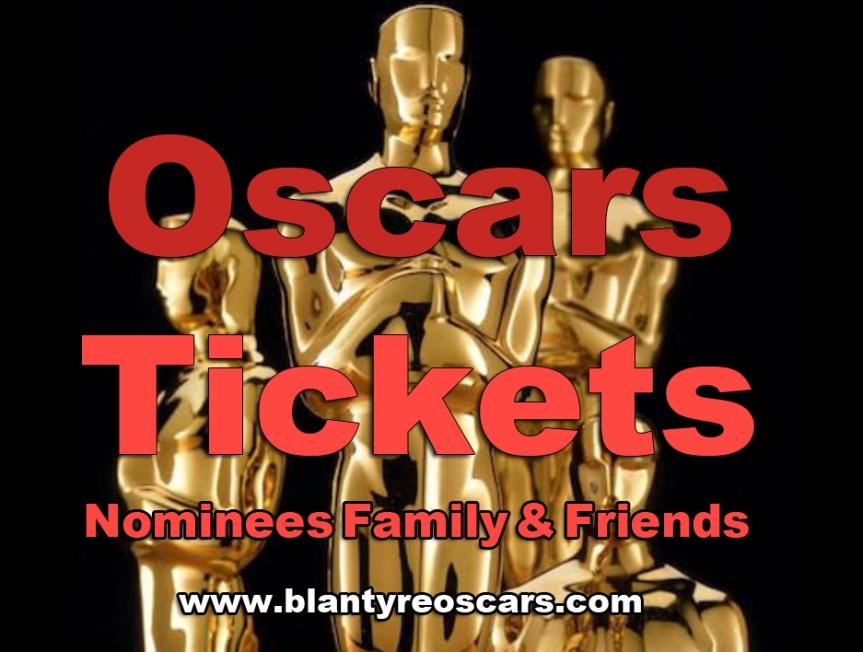 Oscars Tickets Available